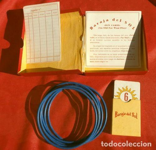 Barajas de cartas: BARAJA DEL SOL - JUEGO DESTREZA (muy RARO) SUN CARDS AN OLD FAR WEST PLAY - años 50 ed. Billy Ross - Foto 5 - 193427940