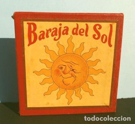 BARAJA DEL SOL - JUEGO DESTREZA (MUY RARO) SUN CARDS AN OLD FAR WEST PLAY - AÑOS 50 ED. BILLY ROSS (Juguetes y Juegos - Cartas y Naipes - Otras Barajas)