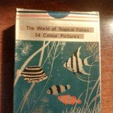 Barajas de cartas: BARAJA CARTAS DE PÓKER. LOS PECES TROPICALES, 54 IMÁGENES TROPICAL FISHES NUEVA PRECINTADA. Lote 193448971