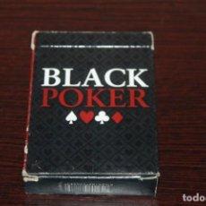 Barajas de cartas: UN JUEGO BARAJAS DE BLACK POKER COMPLETA DE 54 CARTAS. Lote 193450743