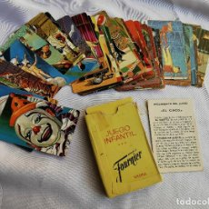 Jeux de cartes: EL CIRCO - HERACLID FOURNIER - JUEGO INFANTIL. Lote 193712837