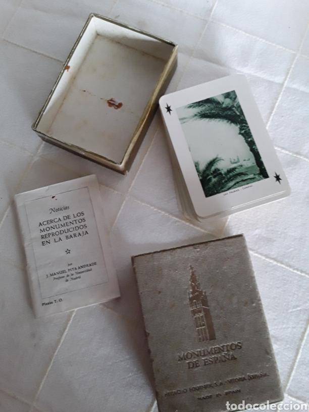Barajas de cartas: Baraja monumentos de España heraclio fournier 1959 completa - Foto 2 - 193808503