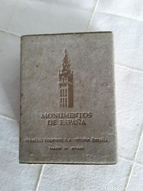 BARAJA MONUMENTOS DE ESPAÑA HERACLIO FOURNIER 1959 COMPLETA (Juguetes y Juegos - Cartas y Naipes - Barajas de Póker)