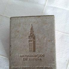 Barajas de cartas: BARAJA MONUMENTOS DE ESPAÑA HERACLIO FOURNIER 1959 COMPLETA. Lote 193808503