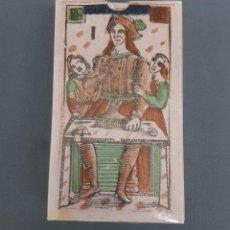 Barajas de cartas: BARAJA TAROT FLORENTINO MINCHIATE AL LEONE - ITALIA - S.XVIII - FACSIMIL - SIN ABRIR. Lote 193841637