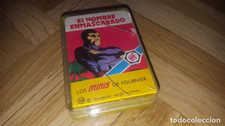 BARAJA SUPERHÉROES AÑOS 70 - EL HOMBRE ENMASCARADO (Juguetes y Juegos - Cartas y Naipes - Barajas Infantiles)