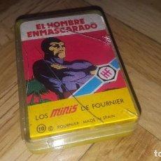 Jeux de cartes: BARAJA SUPERHÉROES AÑOS 70 - EL HOMBRE ENMASCARADO. Lote 193845026