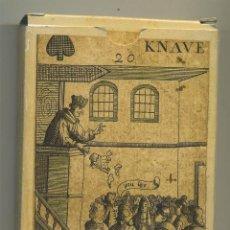 Barajas de cartas: BARAJA CARTAS REVOLUCION ISLAS BRITANICAS S.XVII FACSÍMIL DE LA ORIGINAL DEL MUSEO FOURNIER. Lote 193853195