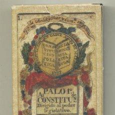 Barajas de cartas: BARAJA DE CARTAS DE LA CONSTITUCIÓN DE CÁDIZ LA PEPA EDICIÓN FACSÍMIL DE ORIGINAL DEL MUSEO FOURNIER. Lote 193853383