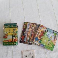 Barajas de cartas: BARAJA INFANTIL PETER PAN Y LOS PIRATAS, HERACLIO FOURNIER 1962. Lote 193891063