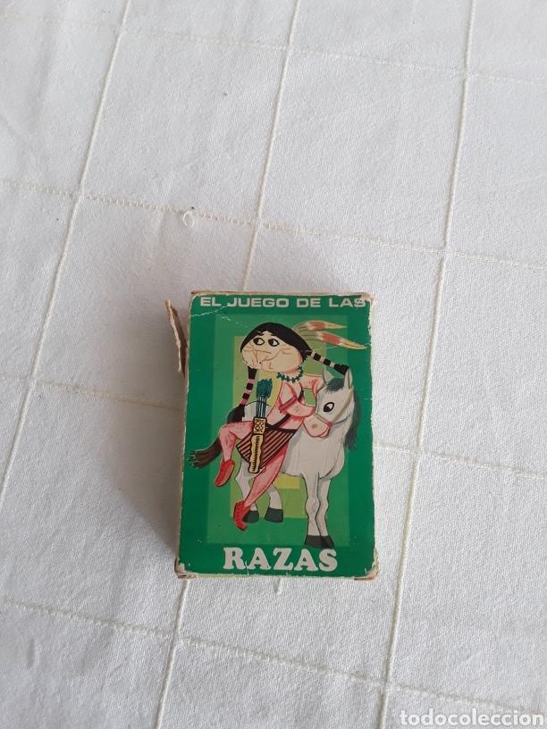 BARAJA INFANTIL EL JUEGO DE LAS RAZAS HERACLIO FOURNIER 1960 (Juguetes y Juegos - Cartas y Naipes - Barajas Infantiles)