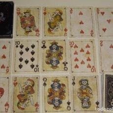 Barajas de cartas: BARAJA DE CARTAS DE PÓKER. RED DEAD REDEMPTION. JUEGO PC ROCKSTAR GAMES. CURIOSOS NAIPES. 100 GR. Lote 193943987