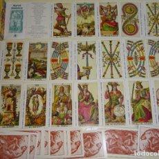 Barajas de cartas: BARAJA DE CARTAS DE TAROT. TAROT DE LAS HADAS TAROCCHI DEI FOLLETTI. SCARABEO 1997. 250 GR. Lote 193952707
