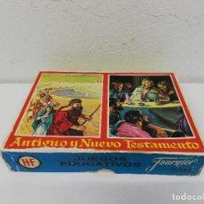 Barajas de cartas: ANTIGUO Y NUEVO TESTAMENTO. FOURNIER. JUEGOS EDUCATIVOS - LA BIBLIA. COMPLETO. Lote 193954843