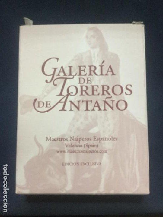 BARAJA EDICION EXCLUSIVA - GALERIA DE TOREROS DE ANTAÑO - NUEVA - PRECINTADA (Juguetes y Juegos - Cartas y Naipes - Baraja Española)