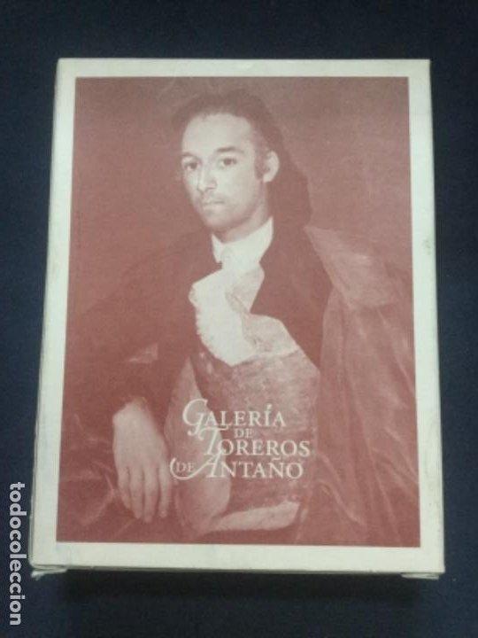 Barajas de cartas: BARAJA EDICION EXCLUSIVA - GALERIA DE TOREROS DE ANTAÑO - NUEVA - PRECINTADA - Foto 2 - 193993226