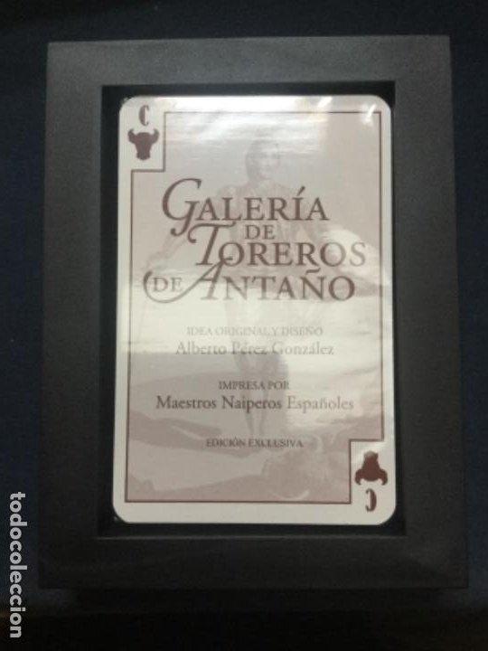 Barajas de cartas: BARAJA EDICION EXCLUSIVA - GALERIA DE TOREROS DE ANTAÑO - NUEVA - PRECINTADA - Foto 3 - 193993226