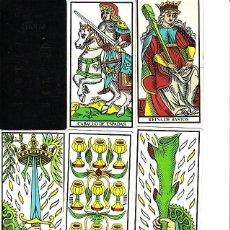 Barajas de cartas: TAROT ARCANOS MENORES PROFESORA GLORIA. Lote 194026936