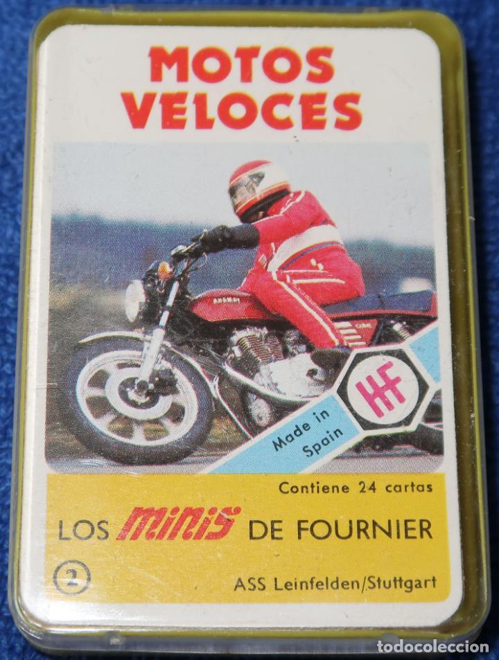 LOS MINIS DE FOURNIER Nº 2 - MOTOS VELOCES - FOURNIER (Juguetes y Juegos - Cartas y Naipes - Barajas Infantiles)
