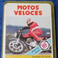 Barajas de cartas: LOS MINIS DE FOURNIER Nº 2 - MOTOS VELOCES - FOURNIER. Lote 194089365