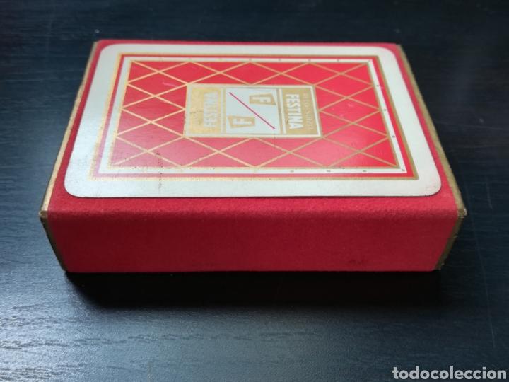 Barajas de cartas: Baraja Fournier publicidad Festina Reloj Suizo - Precintada - Timbre verde tres pesetas - Poker - Foto 5 - 194131960