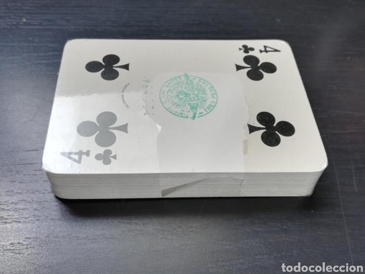 Barajas de cartas: Baraja Fournier publicidad Festina Reloj Suizo - Precintada - Timbre verde tres pesetas - Poker - Foto 11 - 194131960