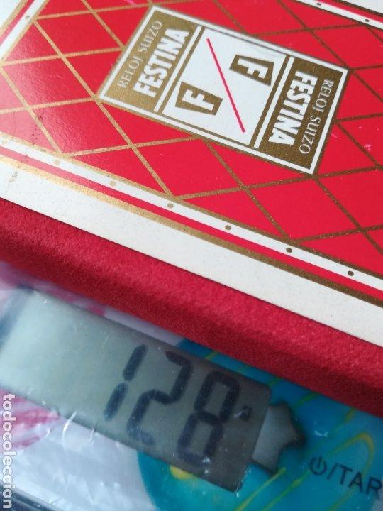 Barajas de cartas: Baraja Fournier publicidad Festina Reloj Suizo - Precintada - Timbre verde tres pesetas - Poker - Foto 19 - 194131960