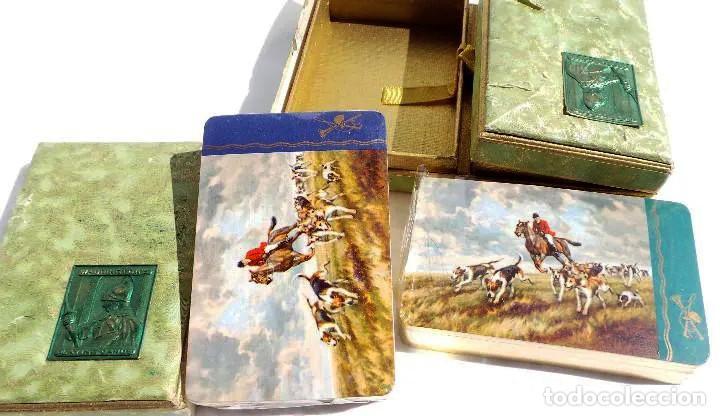 Barajas de cartas: BARAJAS DE CARTAS. FANTASIA.ESCENA DE CAZA, SIN ESTRENAR. - Foto 2 - 194154490