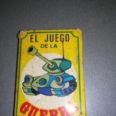 Barajas de cartas: EL JUEGO DE LA GUERRA. Lote 194168363