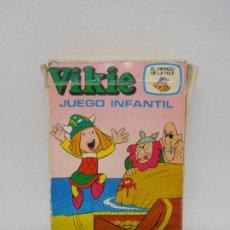 Barajas de cartas: BARAJAS DE CARTAS VIKIE EL VIKINGO DE EDICIONES RECREATIVAS. AÑOS 70. COMPLETA. REF2. Lote 194188448