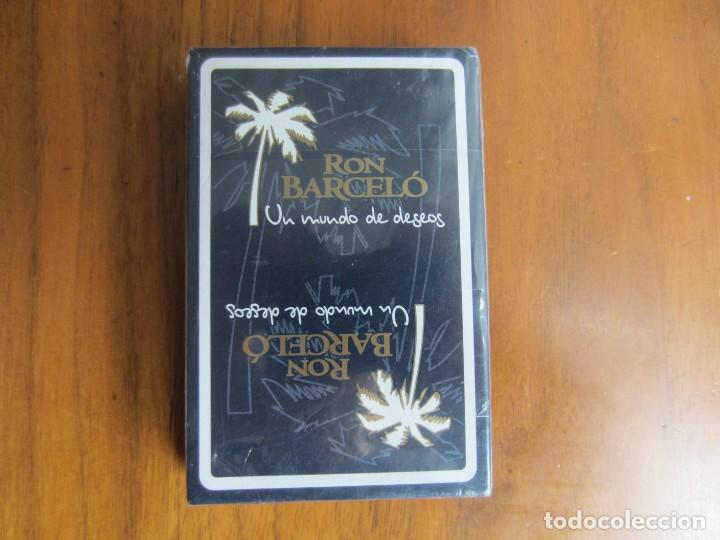 BARAJA ESPAÑOLA FOURNIER-RON BARCELO-SIN ESTRENAR 40 CARTAS (Juguetes y Juegos - Cartas y Naipes - Baraja Española)