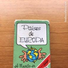 Barajas de cartas: BARAJA DE CARTAS FOURNIER PAÍSES DEL MUNDO - COMPLETA. Lote 194204180