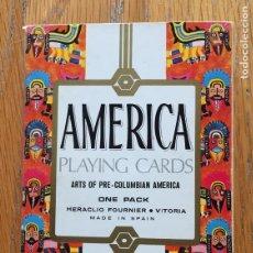 Barajas de cartas: BARAJA PLAYING CARDS, AMERICA ARTS OF PRECOLOMBIAN AMERICA, ARTE PRECOLOMBINO. Lote 194209305