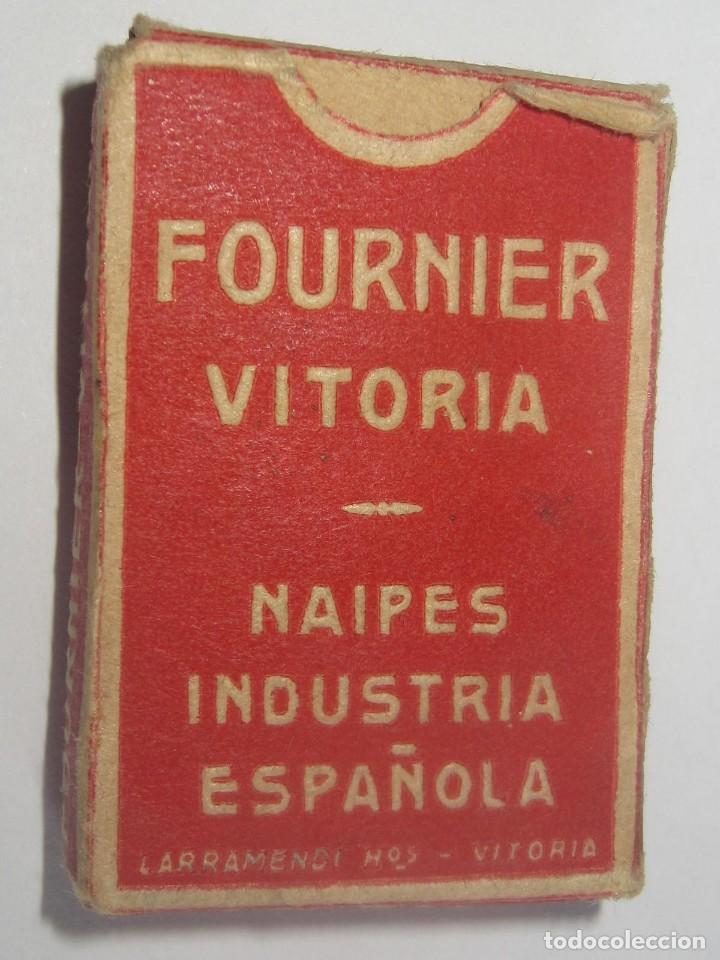 Barajas de cartas: FOURNIER – VICTORIA BARAJA LILIPUT NUEVA AÑOS 40-50 BONITA ESPAÑOLA, COMO NUEVA - Foto 4 - 194214641