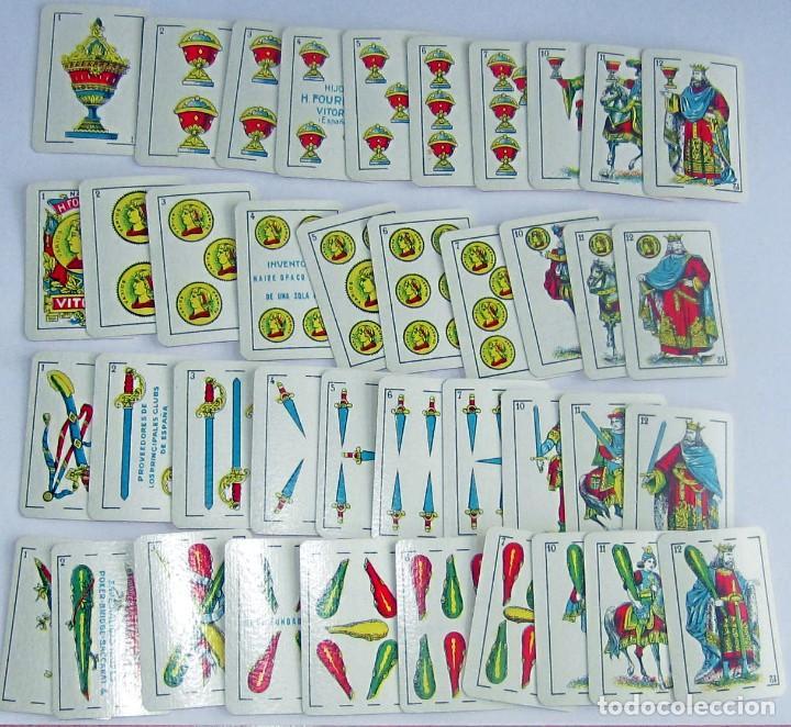 Barajas de cartas: FOURNIER – VICTORIA BARAJA LILIPUT NUEVA AÑOS 40-50 BONITA ESPAÑOLA, COMO NUEVA - Foto 7 - 194214641