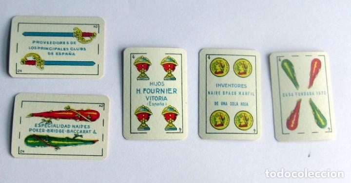 Barajas de cartas: FOURNIER – VICTORIA BARAJA LILIPUT NUEVA AÑOS 40-50 BONITA ESPAÑOLA, COMO NUEVA - Foto 8 - 194214641