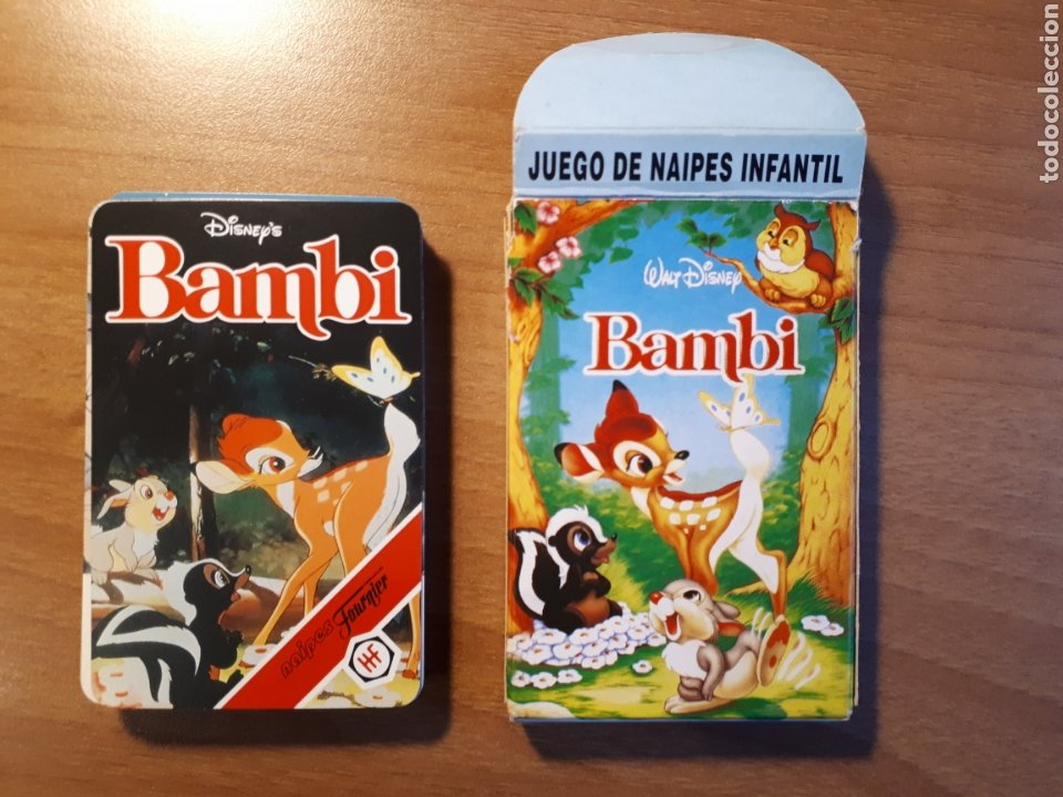 BAMBI. JUEGO DE NAIPES INFANTIL (Juguetes y Juegos - Cartas y Naipes - Barajas Infantiles)