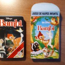 Barajas de cartas: BAMBI. JUEGO DE NAIPES INFANTIL. Lote 194216047