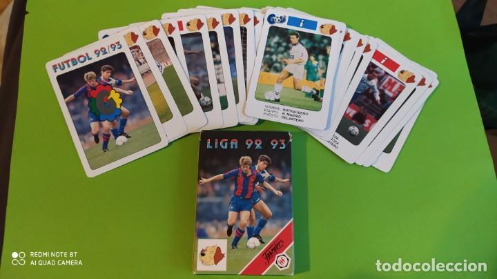 JUEGO BARAJA CARTAS FOURNIER FUTBOL LIGA ESPAÑA 1992 1993 A ESTRENAR (Juguetes y Juegos - Cartas y Naipes - Otras Barajas)