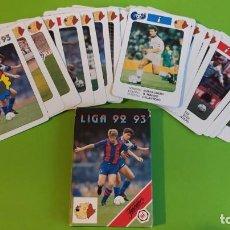 Barajas de cartas: JUEGO BARAJA CARTAS FOURNIER FUTBOL LIGA ESPAÑA 1992 1993 A ESTRENAR. Lote 194220526
