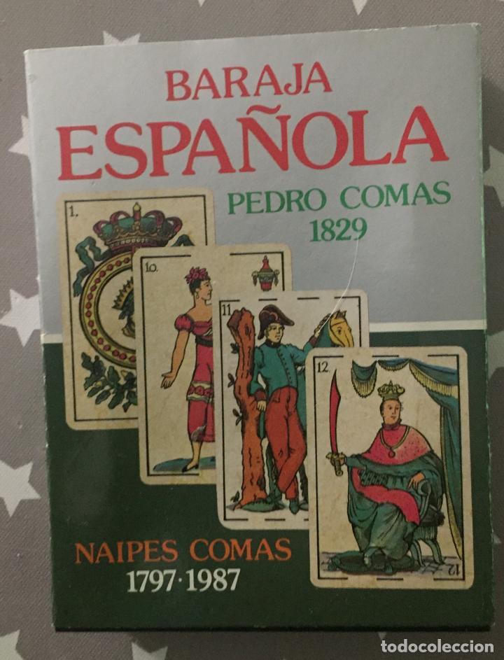 BARAJA ESPAÑOLA, PEDRO COMAS 1829. FACSIMIL (Juguetes y Juegos - Cartas y Naipes - Baraja Española)