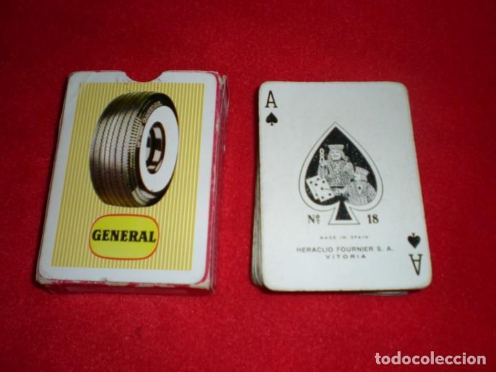 ANTIGUA BARAJA POKER HERACLIO FOURNIER PUBLICIDAD NEUMÁTICOS GENERAL (Juguetes y Juegos - Cartas y Naipes - Barajas de Póker)