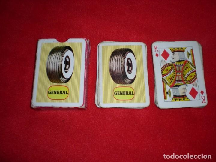 Barajas de cartas: Antigua baraja poker Heraclio Fournier publicidad neumáticos General - Foto 2 - 194292427