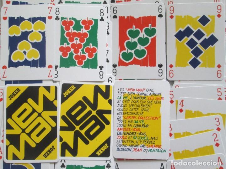 Barajas de cartas: Caja con dos mazos de barajas de poker publicidad NEW MAN serie tarjetas de colección. - Foto 3 - 194292671