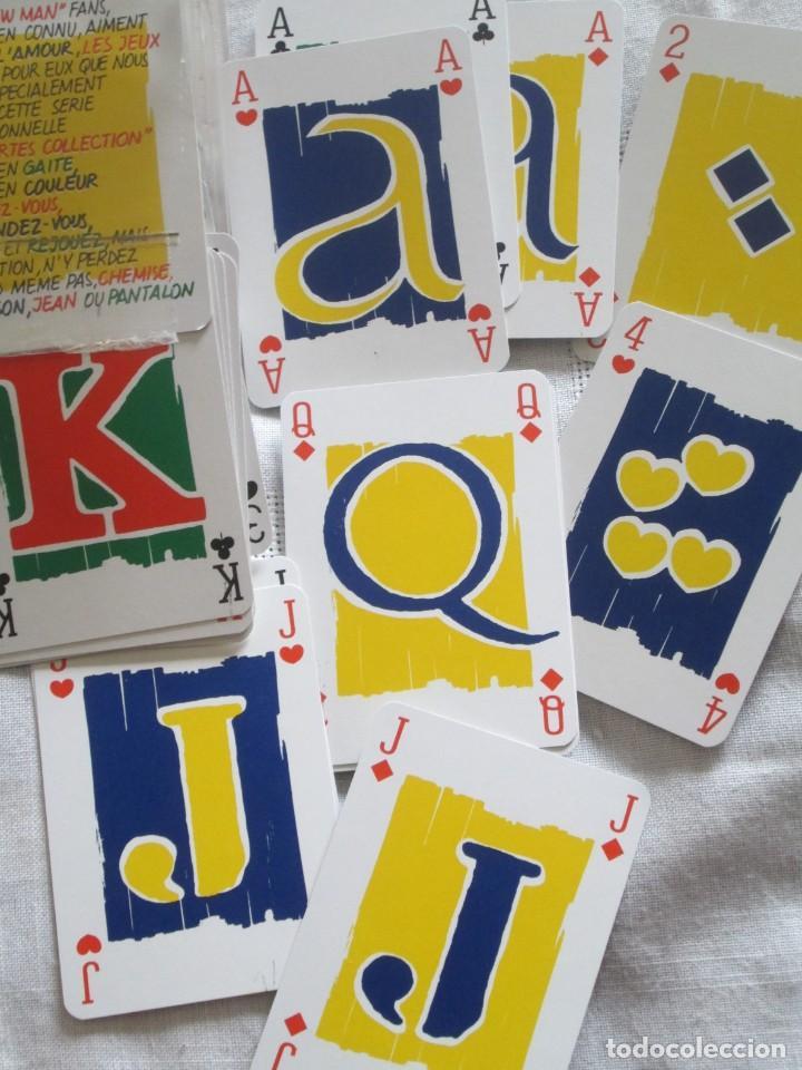 Barajas de cartas: Caja con dos mazos de barajas de poker publicidad NEW MAN serie tarjetas de colección. - Foto 5 - 194292671
