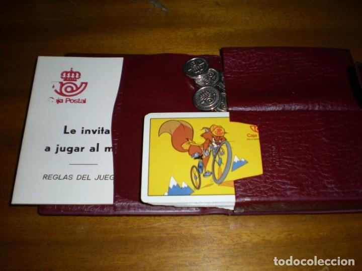 ESTUCHE MUS PUBLICIDAD CAJA POSTAL (Juguetes y Juegos - Cartas y Naipes - Baraja Española)
