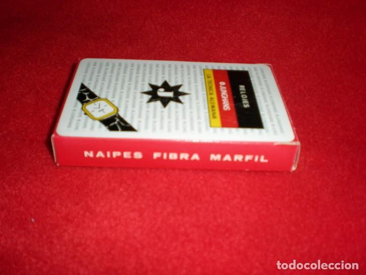 Barajas de cartas: Baraja española publicidad relojes Junghans - Foto 2 - 194293870