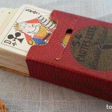 Barajas de cartas: BARAJA DE CARTAS DE PÓKER EN MINIATURA. Lote 194301455