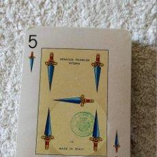 Barajas de cartas: BARAJA CARTAS, HERACLIO FOURNIER - ESSO (LUBRICANTES) Nº 20 - 54 NAIPES - NUEVA SIN DESPRECINTAR.. Lote 194319971
