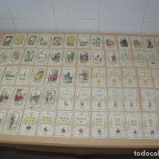 Barajas de cartas: ANTIGUA BARAJA TAROT S. XIX GRAND ETTEILLA (JEAN BAPTISTE ALLIETTE), COMPLETA 78 CARTAS. Lote 194337933